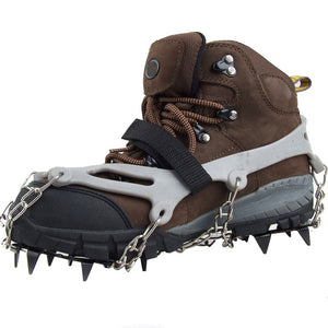 1 Pair 12 Teeth Claws Crampons