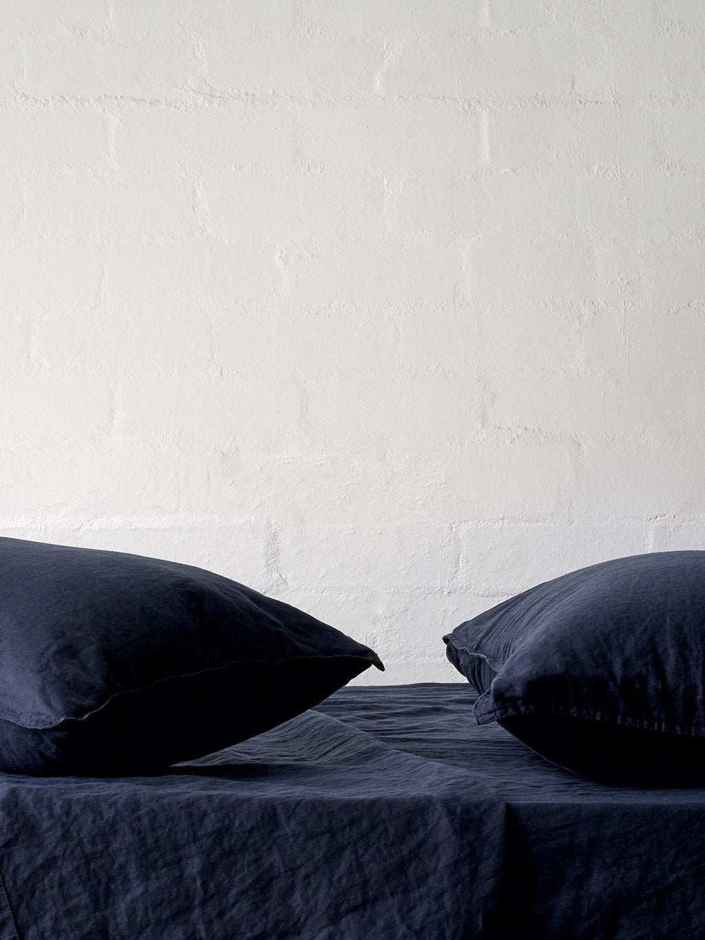 Mondo Navy Pillowcases