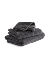 Coal Tweed Towels