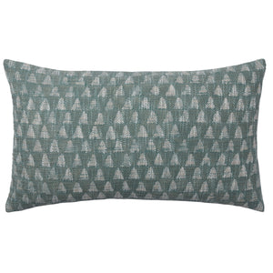 Dabu Triangle Jade Cushion