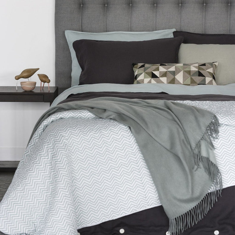 Mondo Charcoal Duvet Cover Set