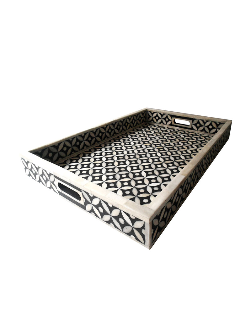 Baron Bone Inlay Tray