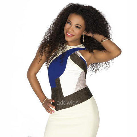 Jojo Offerman Same Style Celebrity Customized Human Hair Wigs