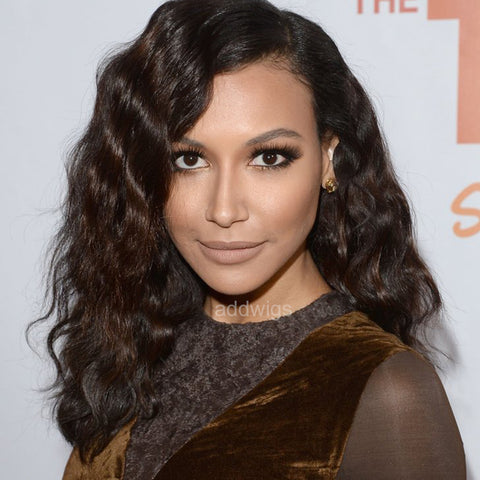 Naya Rivera Celebrity Customized Wigs Human Hair Lace Wig