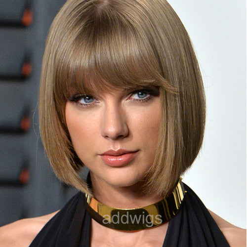 Taylor Swift Celebrity Customized Human Hair Lace Wig