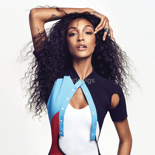 Jourdan Dunn Celebrity Customized Wigs Human Hair Lace Wig