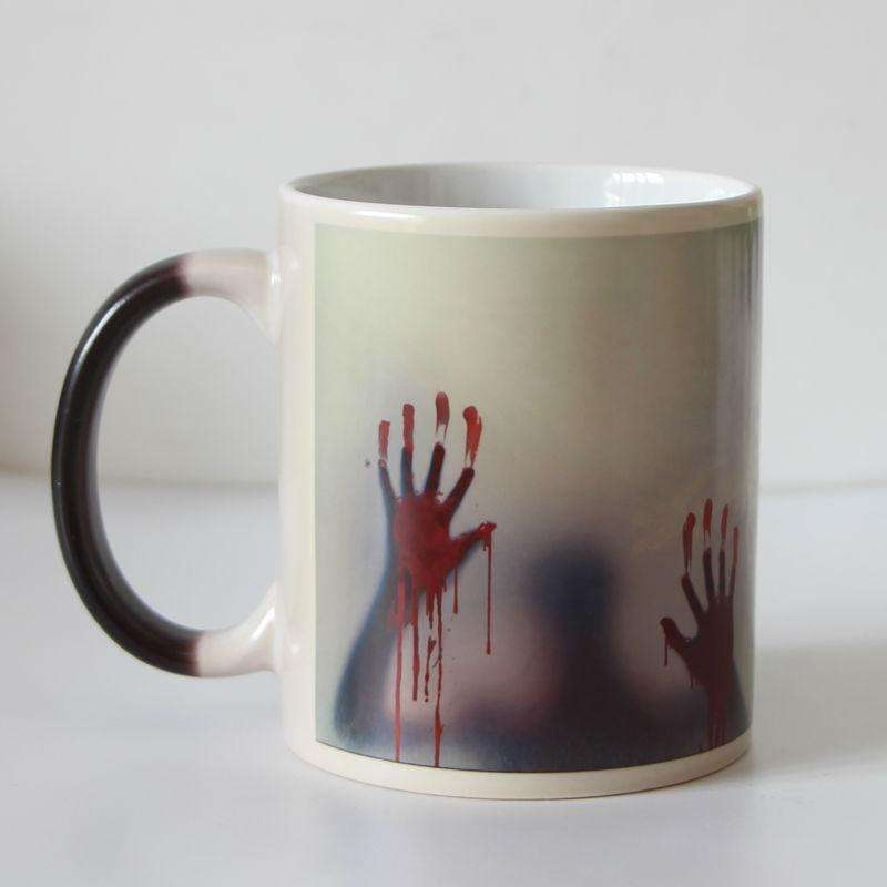 Heat Activated The Walking Dead Coffee Mug Collection TruBrewLovers