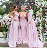 ENDORA GOWN VEE BLUSH
