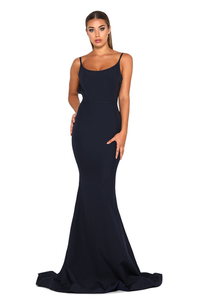 ELLIE GOWN NAVY