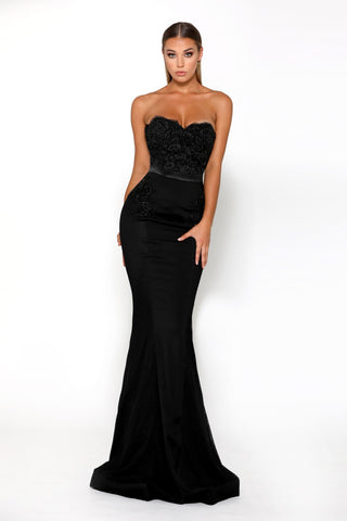 Thumbelina Gown Black