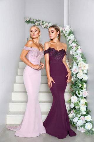 SIENNA GOWN MAUVE