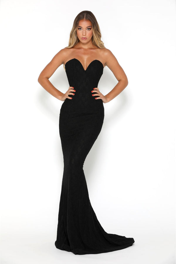 Gabriella Gown Black