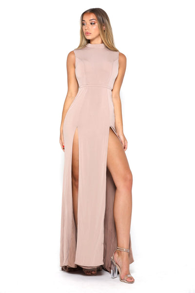 JJ Dress Nude