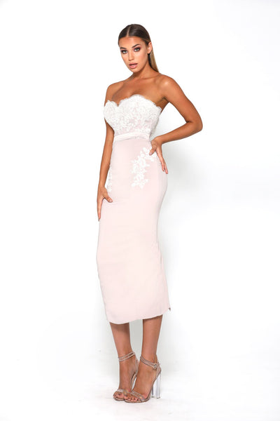 Melissa Dress Stone/Ivory