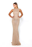 ZACHERY GOWN GOLD