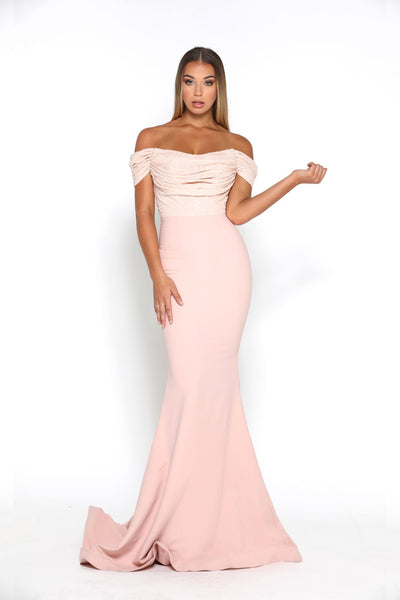 Mermaid Gown Blush