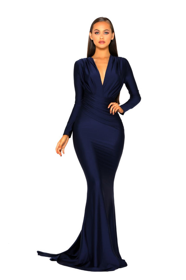 PS5030 GOWN NAVY