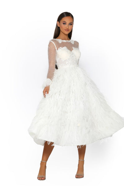 PS5035 GOWN IVORY