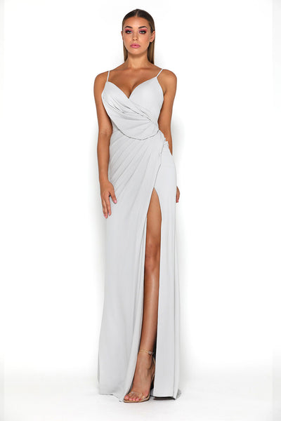 Rosabell Gown Silver