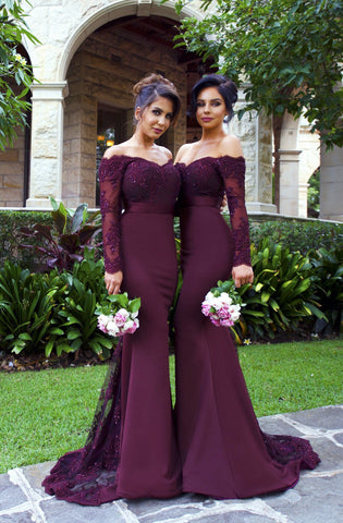 Sienna Long Sleeve Gown