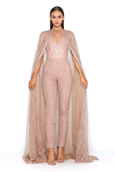 Savanah Jumpsuit Gold