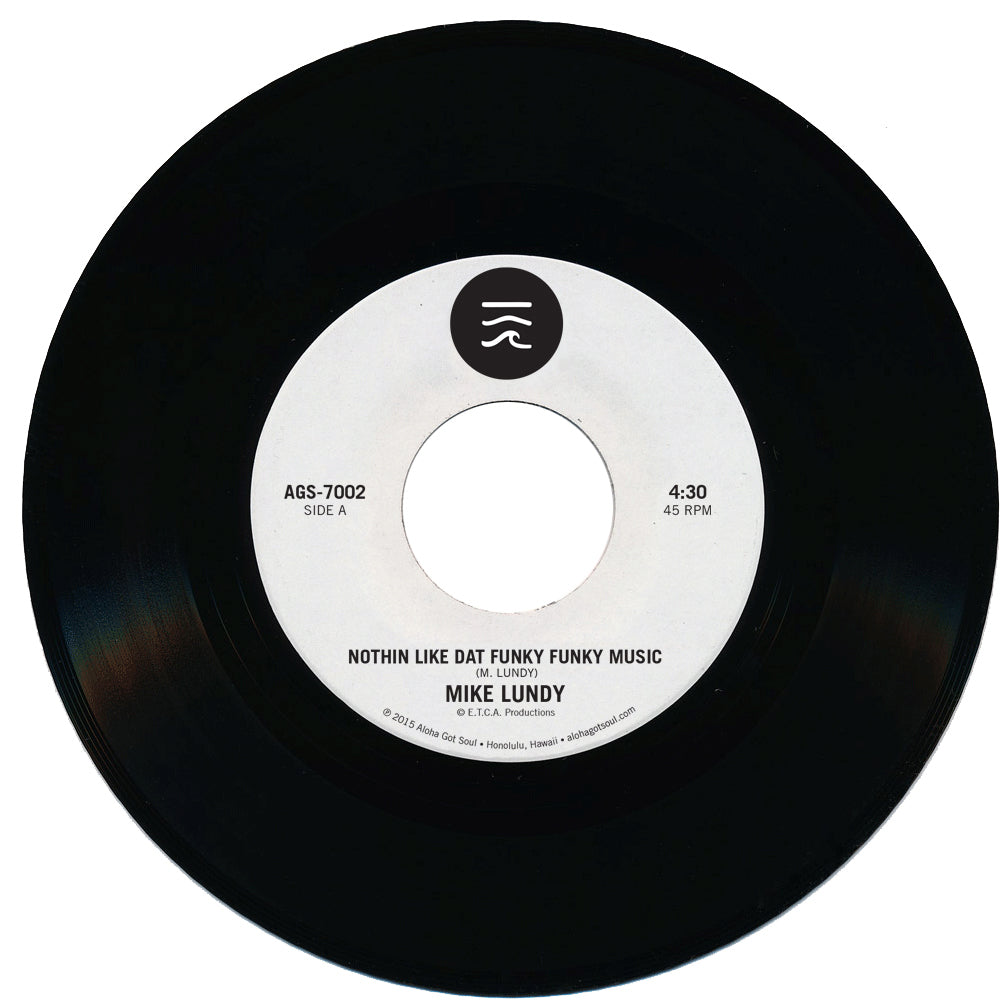 "The Second Release from Aloha Got Soul: Mike Lundy's ""Nothin Like Dat Funky Funky Music"""