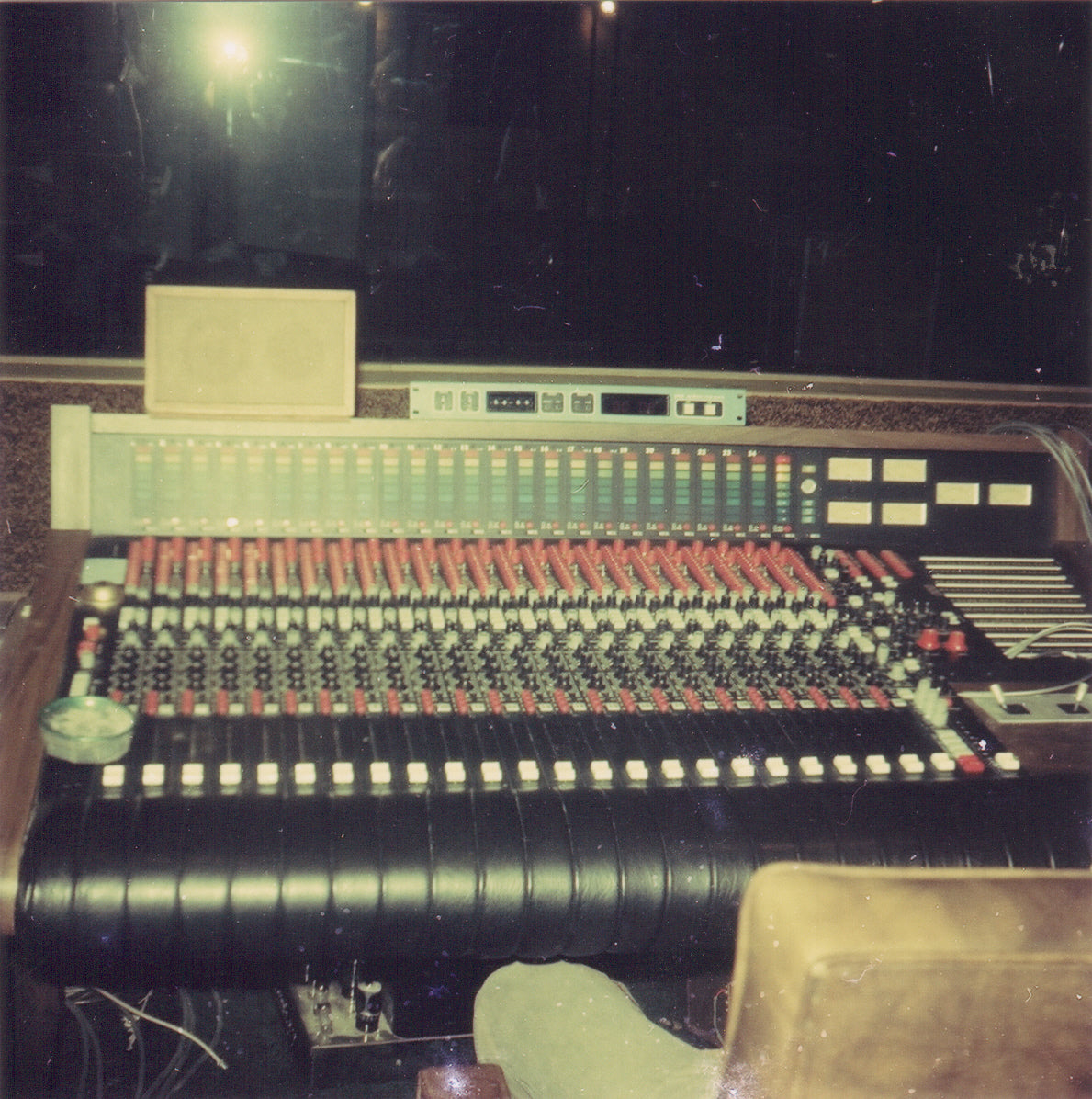 24 Channel Board at Audiotronics studio, where Summer and Kalapana recorded during their residence in Malibu, California.