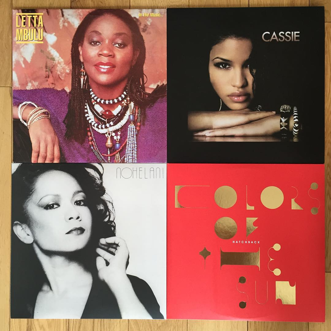 The ladies of Be With Records. Recent releases from Rob Butler's London label.