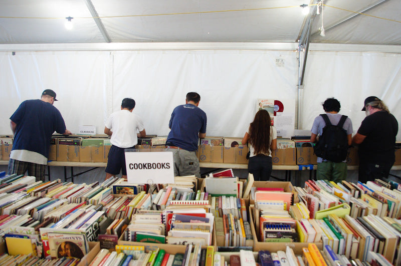 FLH Annual Booksale at Mckinley: The usual suspects