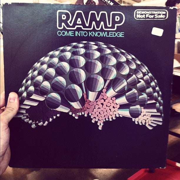 """RAMP """"Come Into Knowledge"""" LP... found in Hawaii, crazy."""