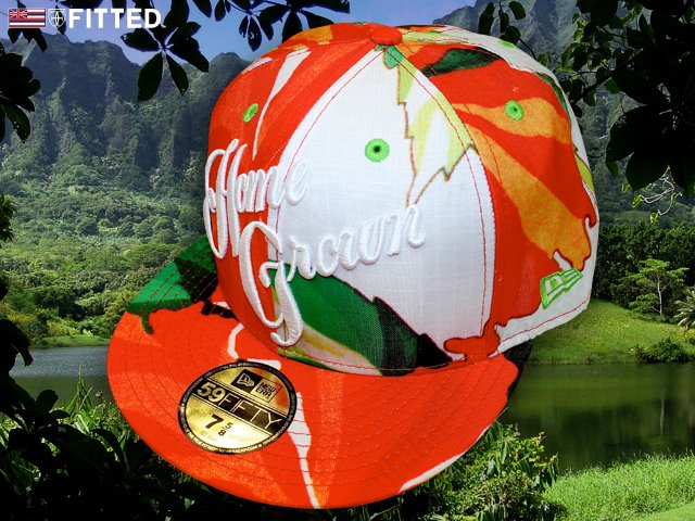 Homegrown Fitted Hawaii Hat