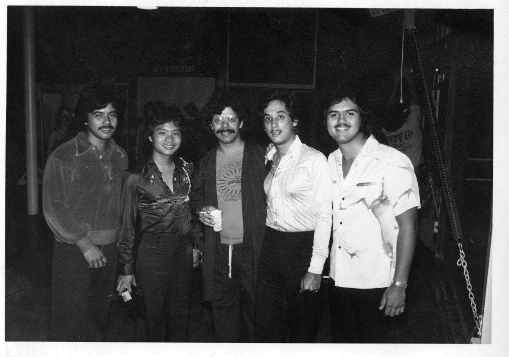 Music Magic with Chick Corea. L-R: Peter Factora (drums), Al Pascua, Chick Corea, Jay Molina (bass), Fred Schreuders (guitar)