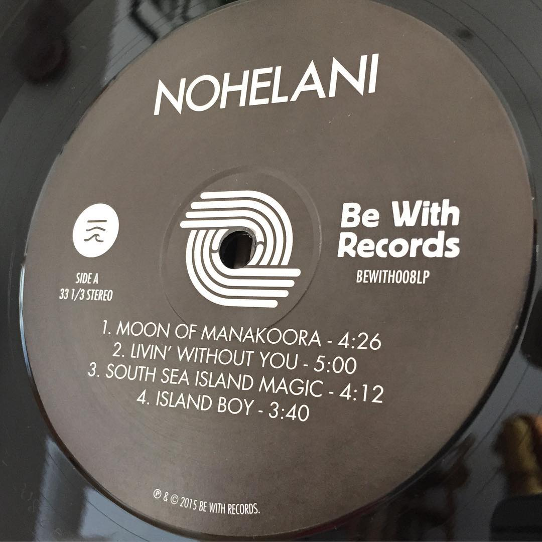 Nohelani reissued on the Be With Records label