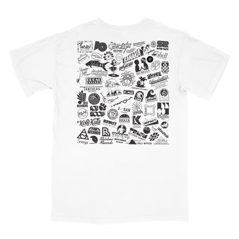 Label Logos T-Shirt (White)