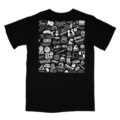Label Logos T-Shirt (Black)