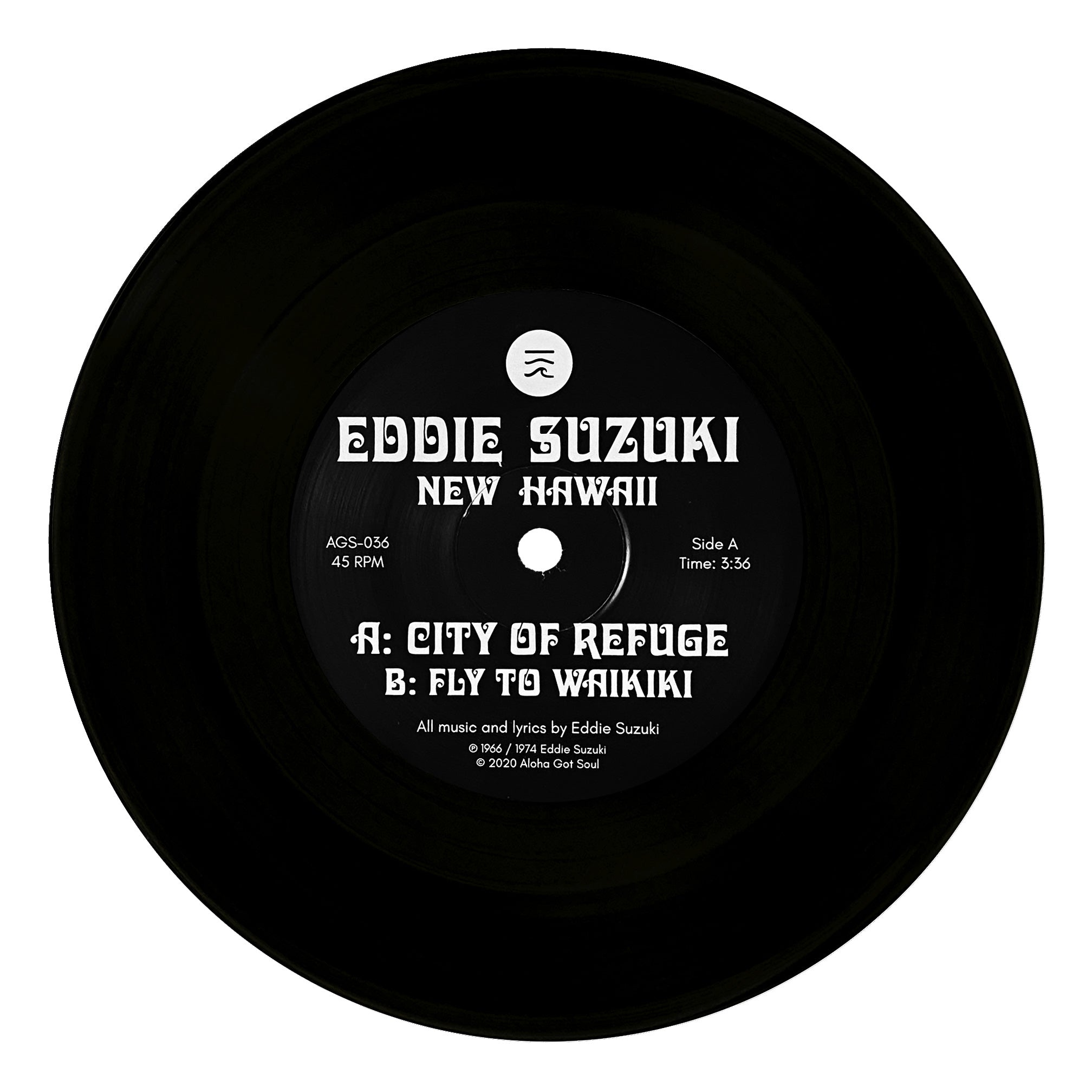 Eddie Suzuki - City Of Refuge (AGS-036)