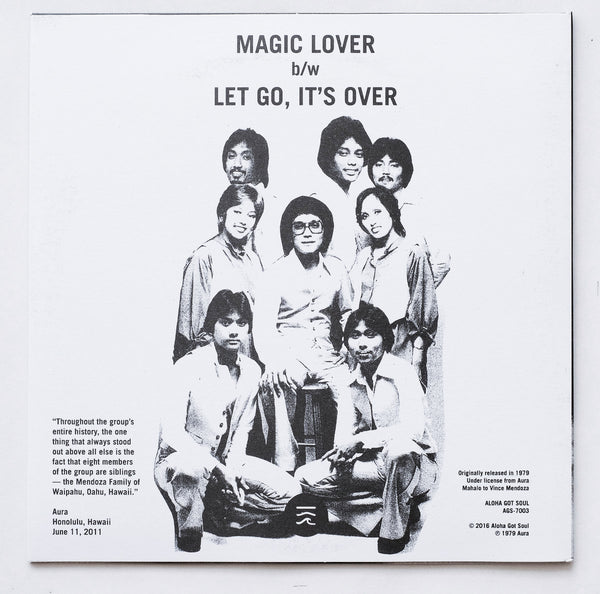 Aura - Magic Lover / Let Go, It's Over (AGS-7003)