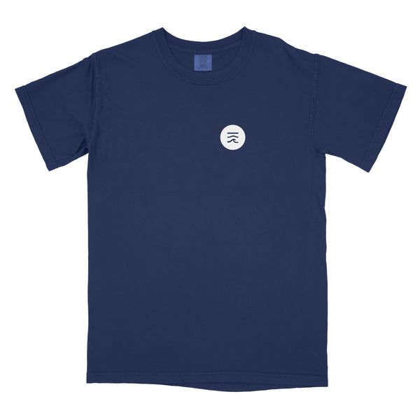 Label Logos T-Shirt (Deep Ocean Blue) [S only]