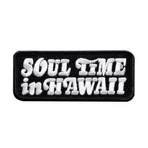 Soul Time in Hawaii Iron-on Patch