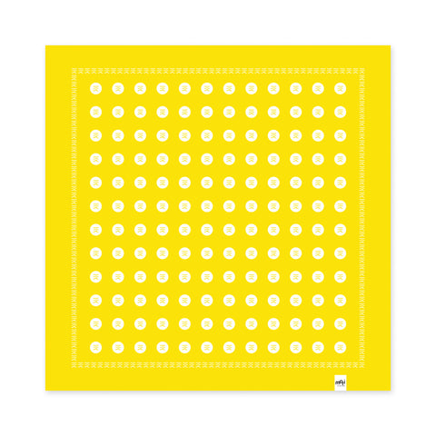Infinite Summer Handkerchief (Sunshine Yellow)