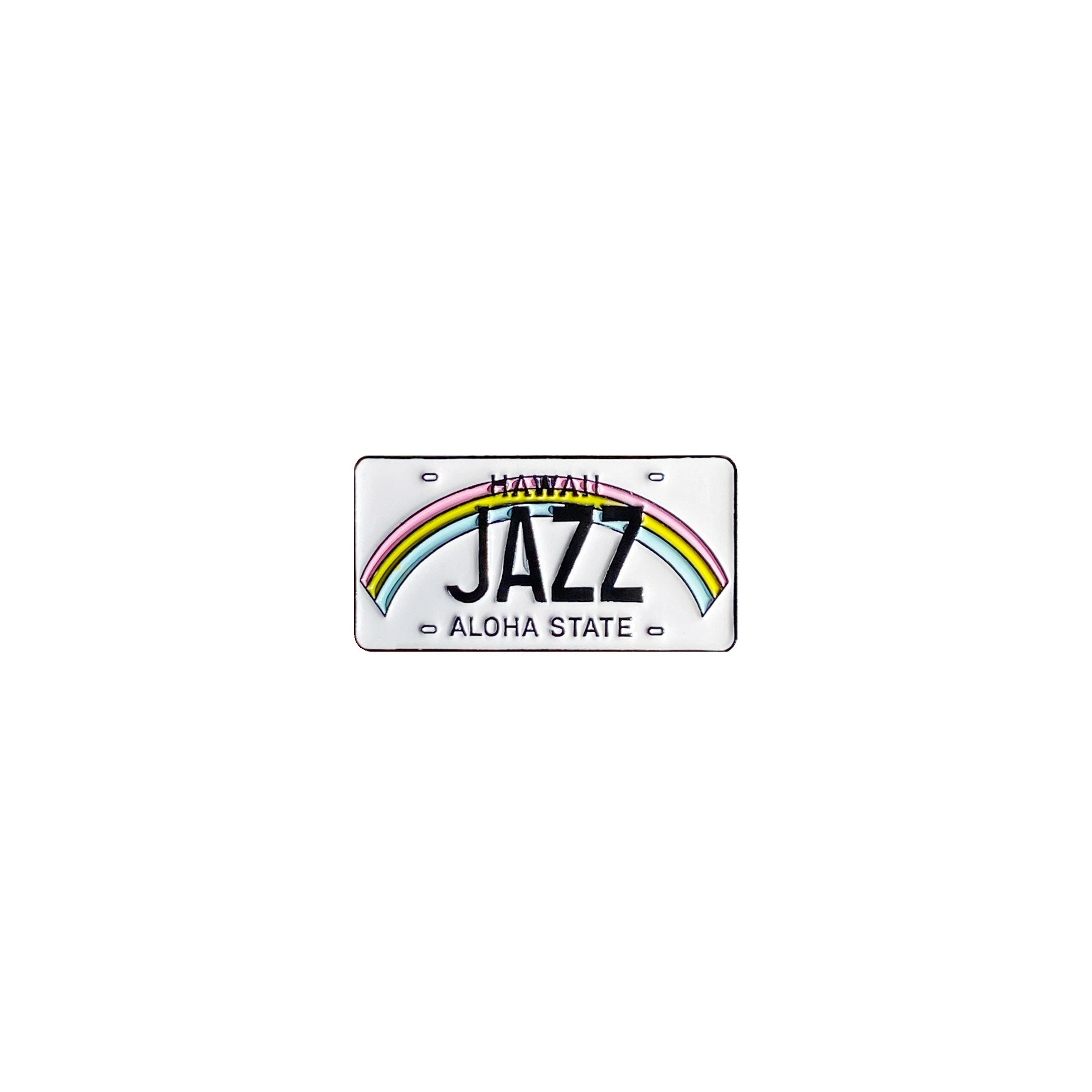 "Hawaii License Plate ""Genre"" Pin"