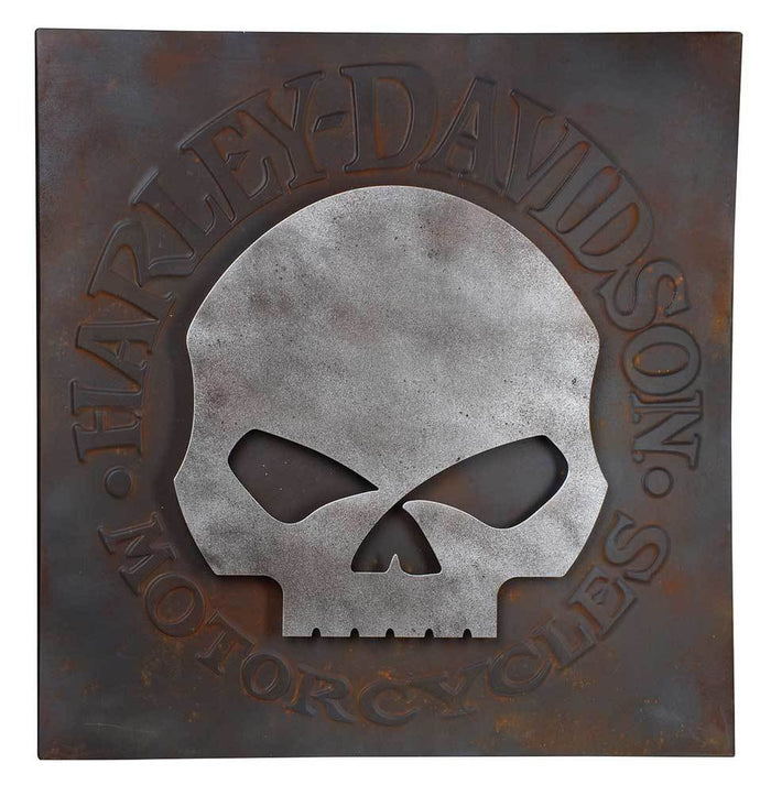 Skull Metal Wall Art