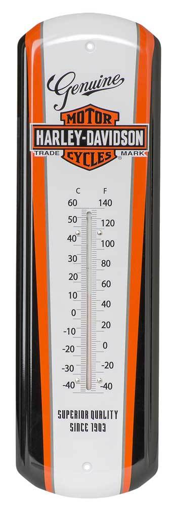 Nostalgic Bar & Shield Tin Thermometer