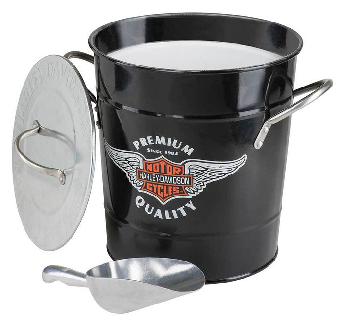 Winged Bar & Shield Ice Bucket