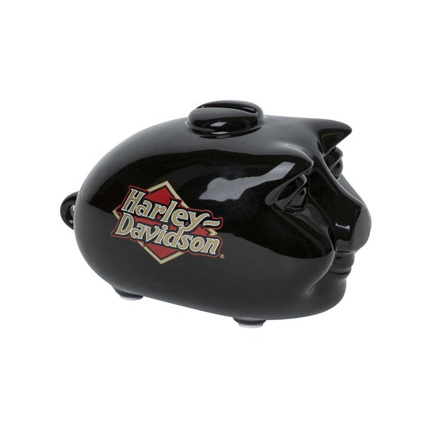 Mini Hog Bank - Gloss Black
