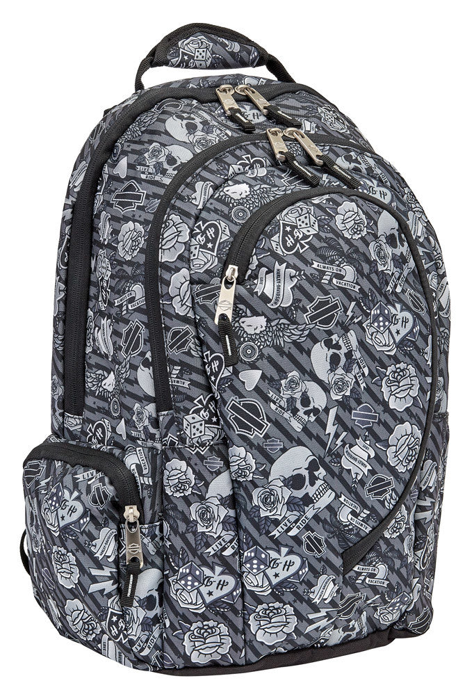 WOMEN'S TATTOO INSPIRED BACKPACK