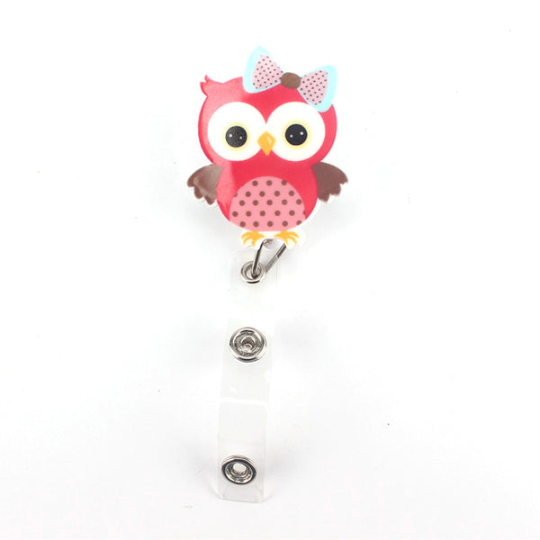 Porte-badge HIBOU 🦉 Rétractable