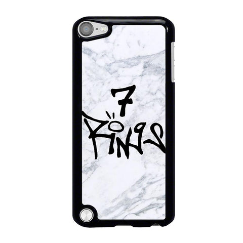 7 RINGS ARIANA GRANDE MARBLE iPod Touch 5 Case