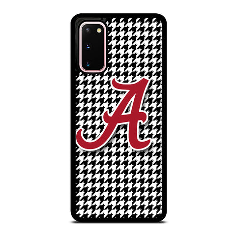 ALABAMA HOUNDSTOOTH CRIMSON TIDE Samsung Galaxy S20 Case