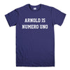 ARNOLD IS NUMERO UNO-mens-t-shirt-Purple